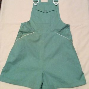 Bib Top Cuff Shorts